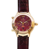 Aire Parlay Ambidextrous Swiss made 18 karat Solid Gold Unique Over-Sized Watch - Red Gold®