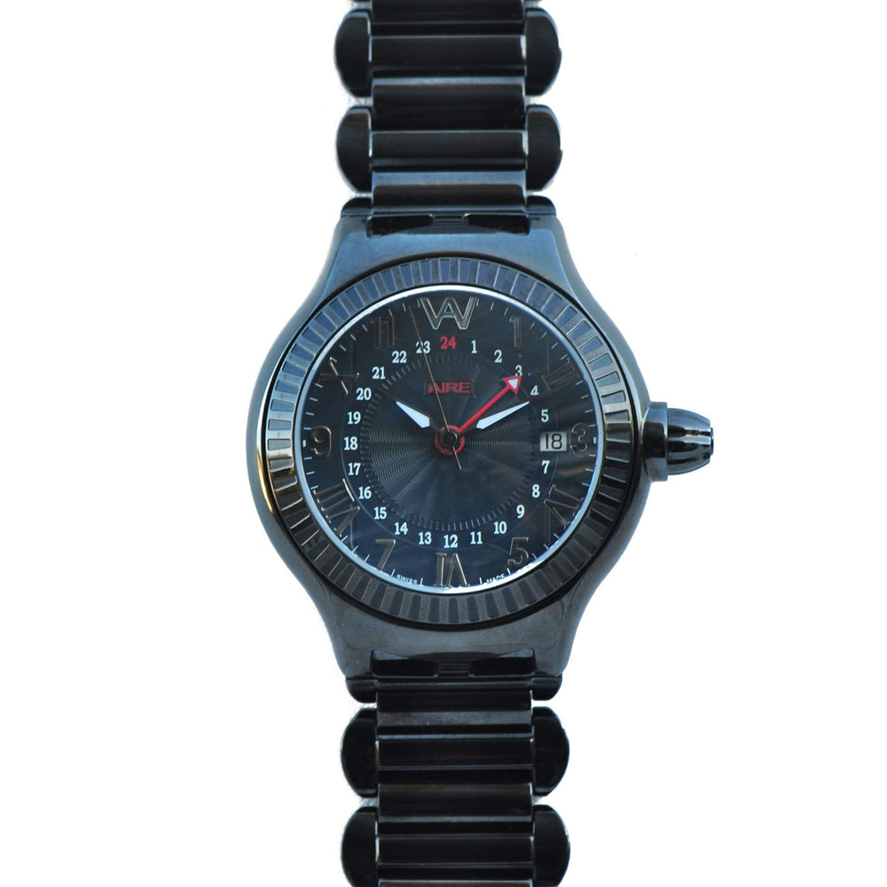 CHRIS AIRE WATCH - PARLAY GMT BLACK - Chris Aire Fine Jewelry & Timepieces