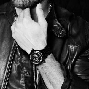 CHRIS AIRE WATCH - PARLAY AMBIDEXTEROUS BLACK - Chris Aire Fine Jewelry & Timepieces