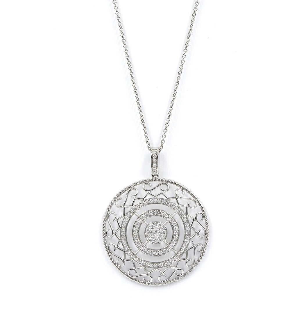 CIRCLE OF LOVE-DIAMOND NECKLACE - Chris Aire Fine Jewelry & Timepieces
