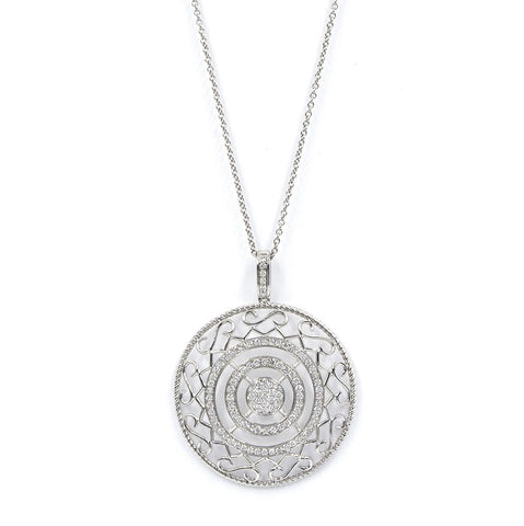 CIRCLE OF LOVE-DIAMOND NECKLACE