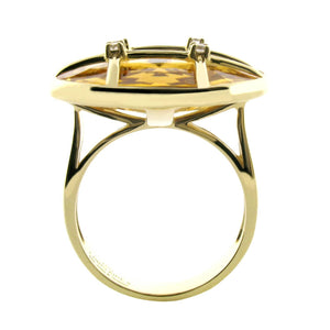 CITRINE RING-GRID - Chris Aire Fine Jewelry & Timepieces