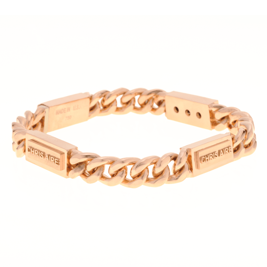 CUBAN LINK ID BRACELET - Chris Aire Fine Jewelry & Timepieces