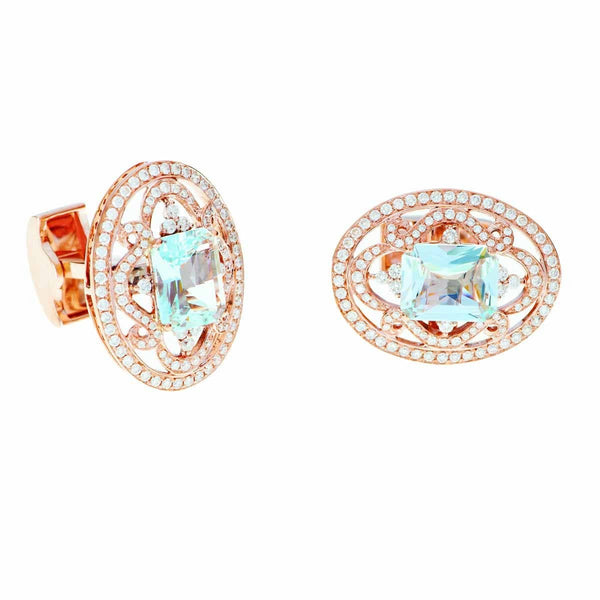 CUFFLINKS -CROWN JEWEL - Chris Aire Fine Jewelry & Timepieces