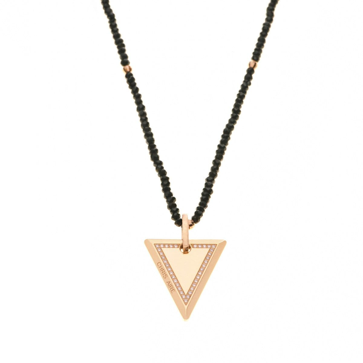 MEDIUM TRI-TAG NECKLACE - Chris Aire Fine Jewelry & Timepieces