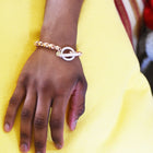 18 KARAT GOLD AFRICAN BEAD BRACELET - Chris Aire Fine Jewelry & Timepieces