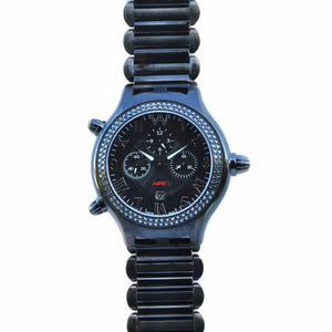 CHRIS AIRE WATCH - PARLAY BLACK DIAMOND CHRONOMATIC - Chris Aire Fine Jewelry & Timepieces