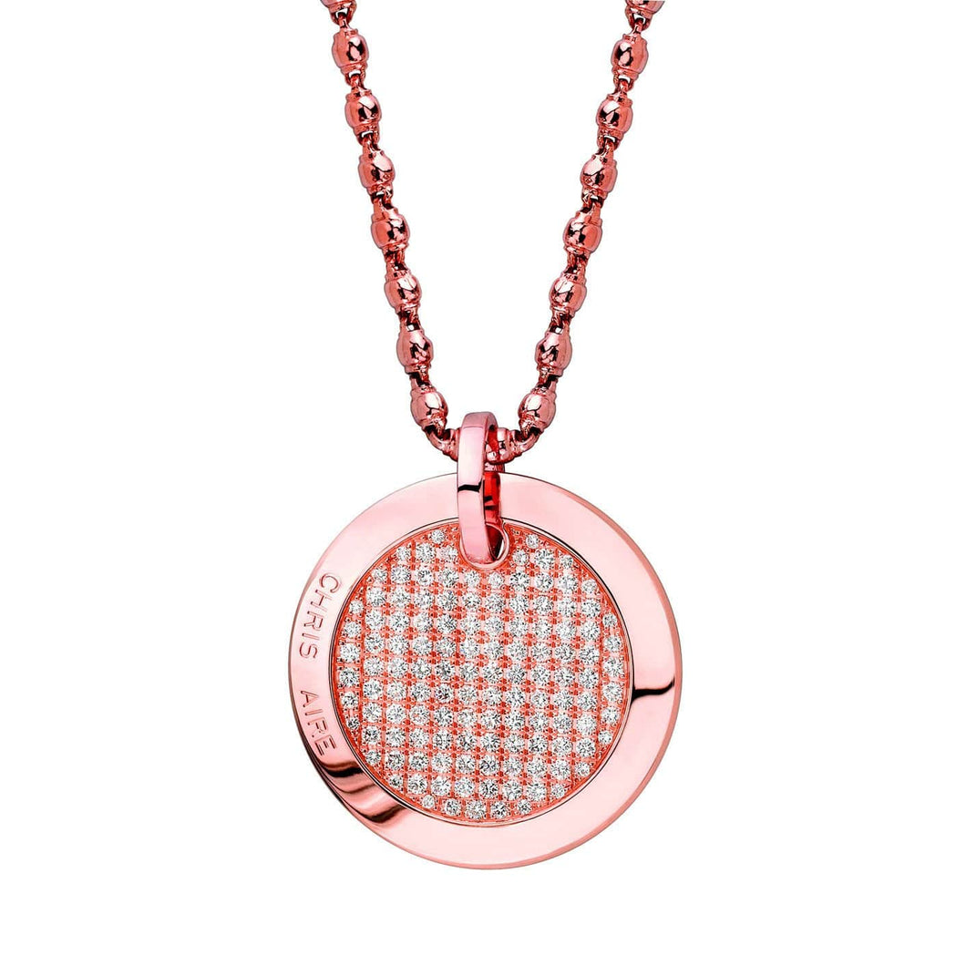 DIAMOND NECKLACE - ETERNITY TAG - Chris Aire Fine Jewelry & Timepieces