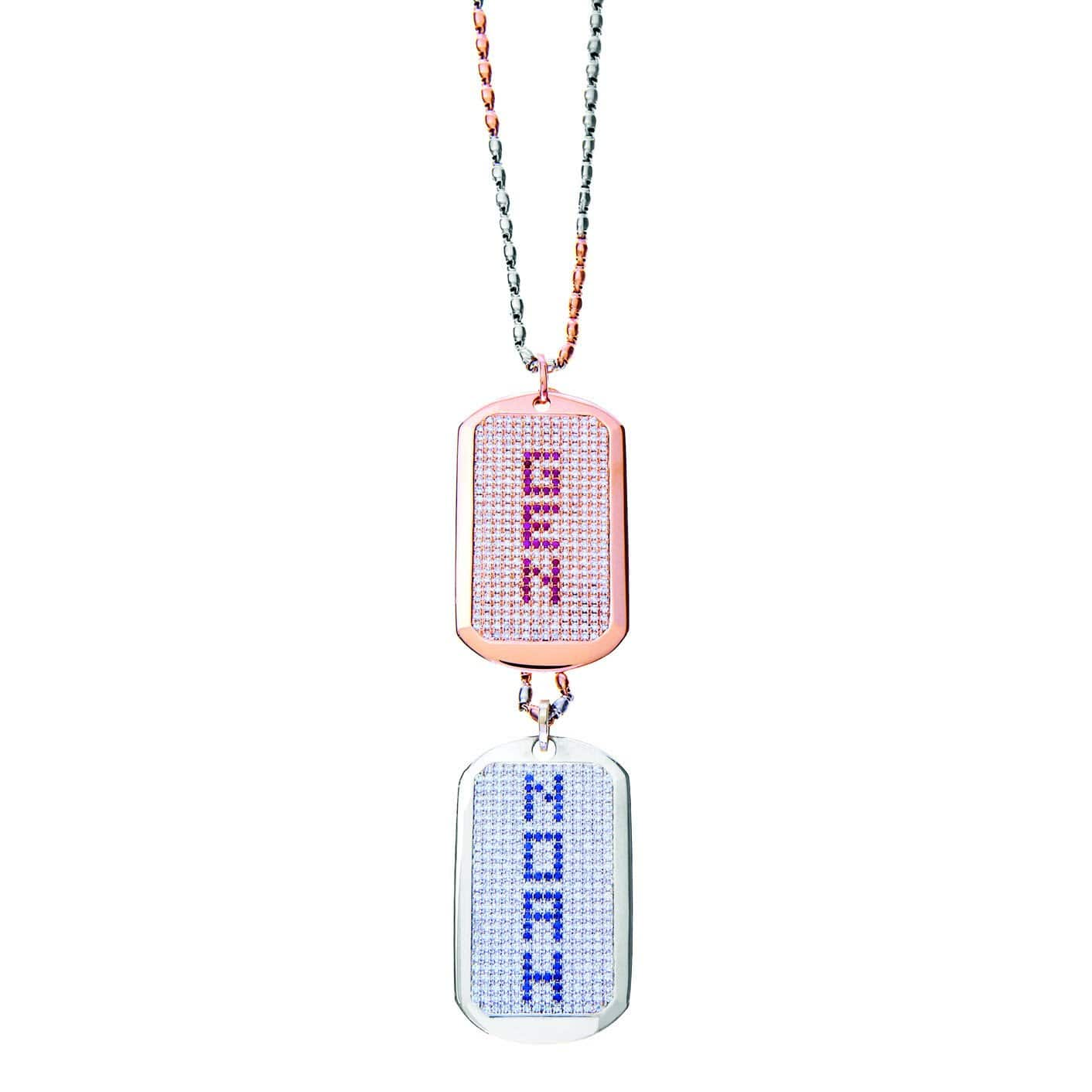 AIRE DIAMOND DOG TAGS - Chris Aire Fine Jewelry & Timepieces