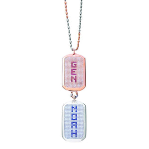 GOLD AND  DIAMOND DOG TAGS - Chris Aire Fine Jewelry & Timepieces