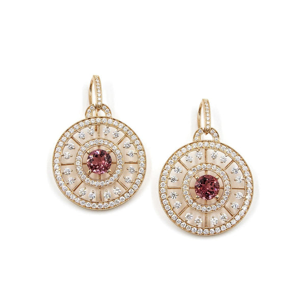 DIAMOND AND GEMSTONE EARRINGS - DUCHESS