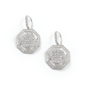 FENG SHUI DIAMOND EARRINGS - Chris Aire Fine Jewelry & Timepieces