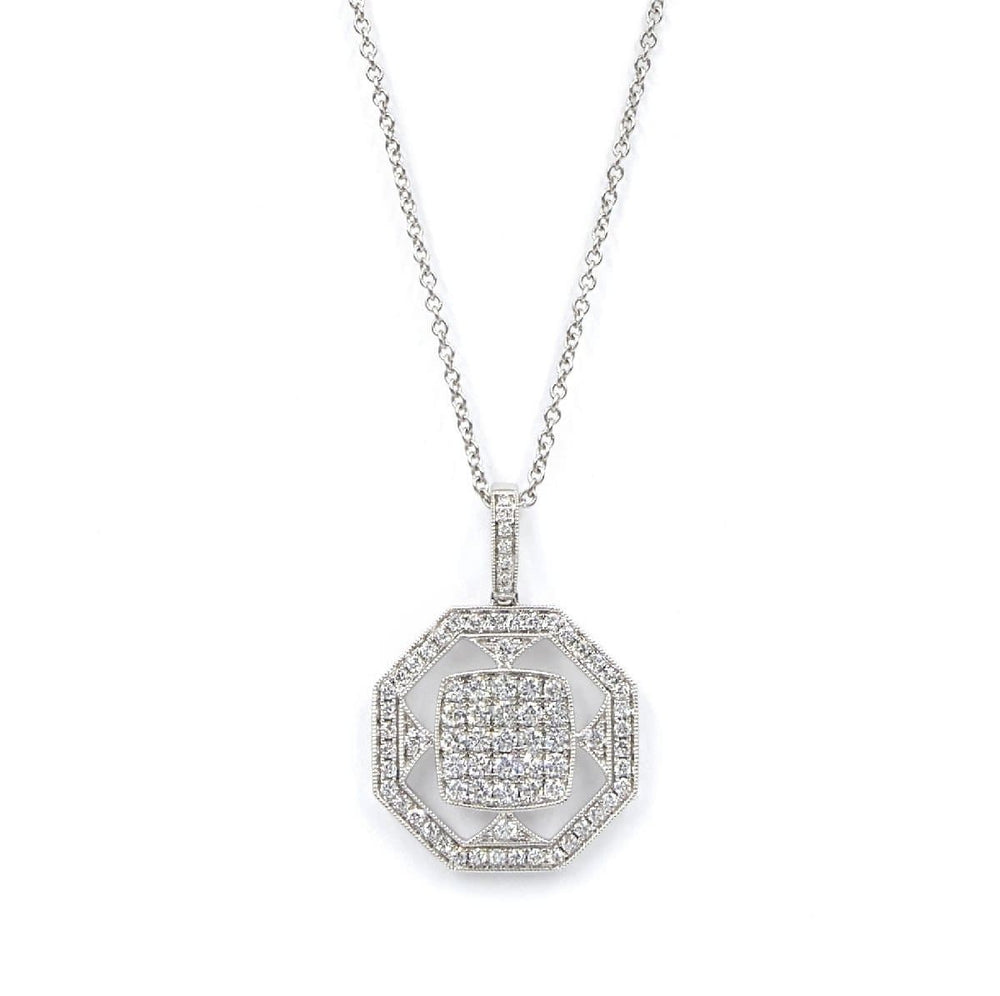 CHRIS AIRE DIAMOND NECKLACE - Chris Aire Fine Jewelry & Timepieces