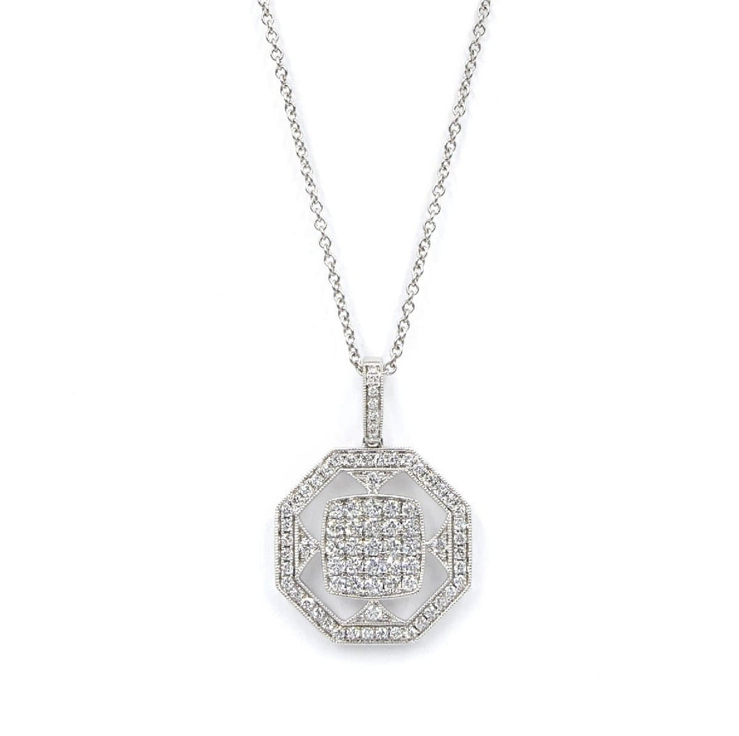 DIAMOND NECKLACE - FENG SHUI - Chris Aire Fine Jewelry & Timepieces