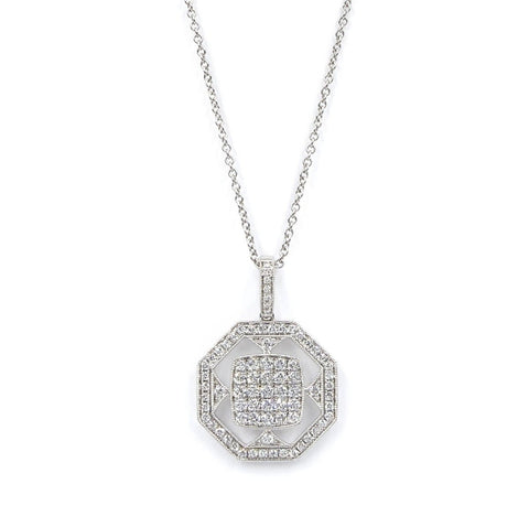 DIAMOND NECKLACE - FENG SHUI