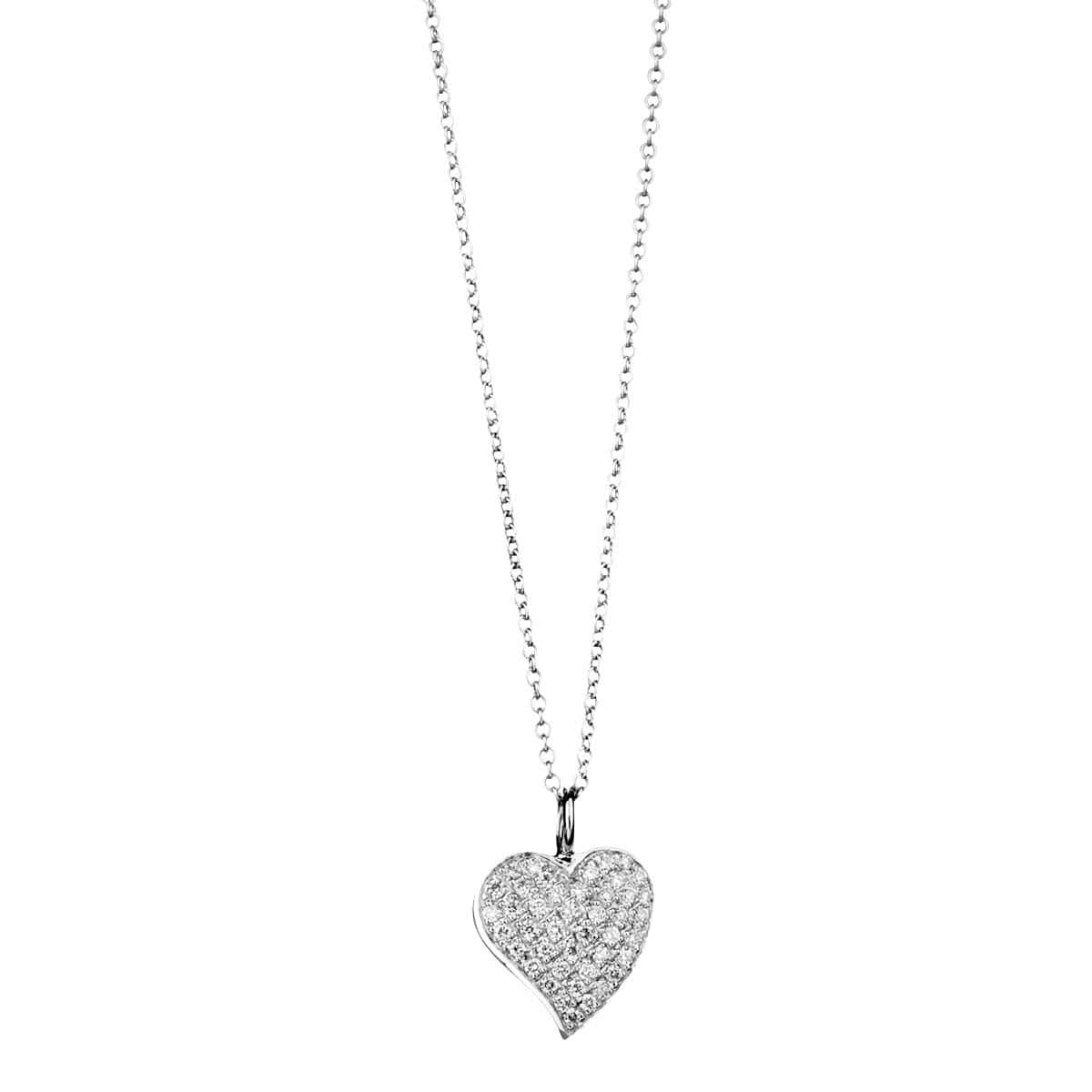 "Diamond Heart Necklace - ""Beautiful Heart"" - Chris Aire Fine Jewelry & Timepieces"