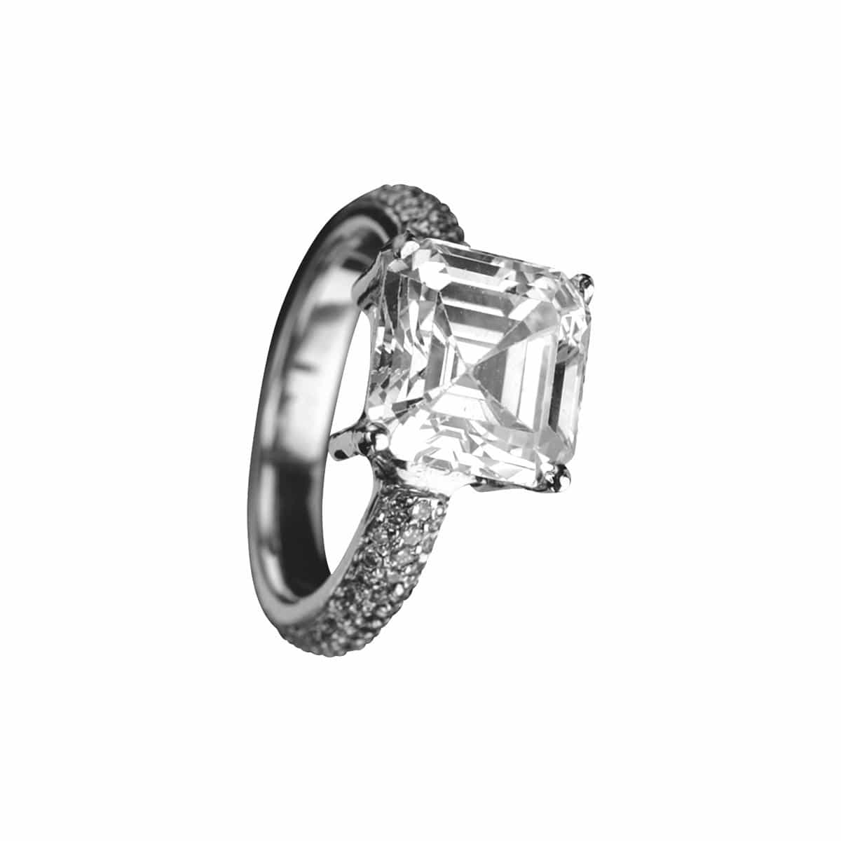 CHRIS AIRE Platinum Engagement Ring - Chris Aire Fine Jewelry & Timepieces