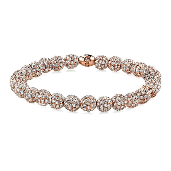18 KARAT DIAMOND BEAD BRACELET - Chris Aire Fine Jewelry & Timepieces