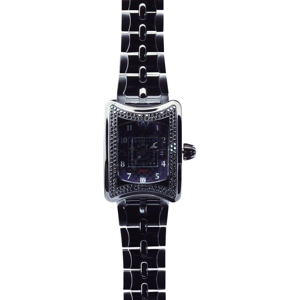 CHRIS AIRE WATCH - TRAVELER II GMT BLACK - Chris Aire Fine Jewelry & Timepieces