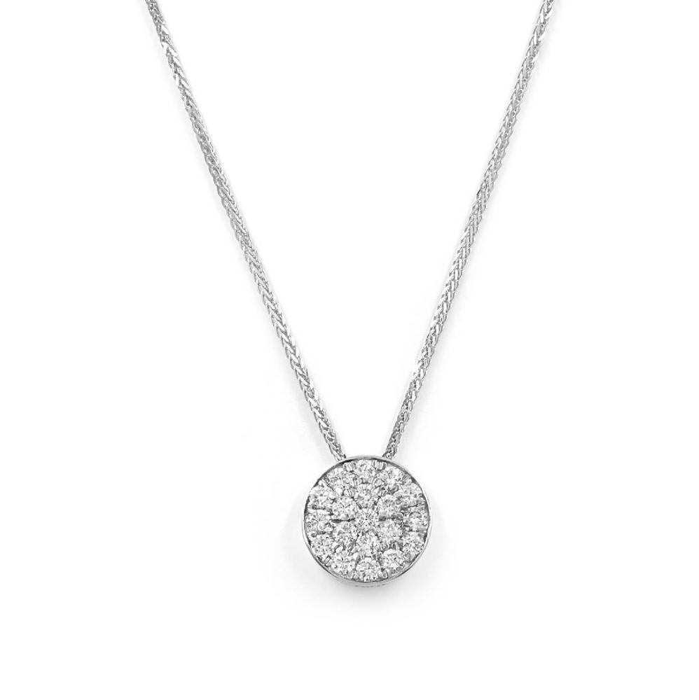 Load image into Gallery viewer, Platinum Diamond Necklace  - Aire Global Necklace