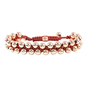 GOLD BEAD BRACELET - Chris Aire Fine Jewelry & Timepieces