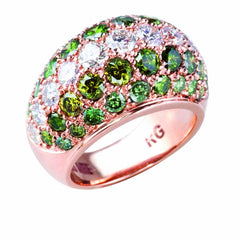 GREEN DIAMOND RING - EVERGREEN - Chris Aire Fine Jewelry & Timepieces