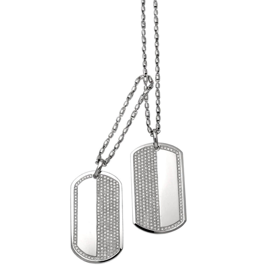 DOUBLE DOG TAGS - Chris Aire Fine Jewelry & Timepieces