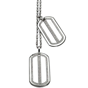 DIAMOND DOG TAGS - Chris Aire Fine Jewelry & Timepieces