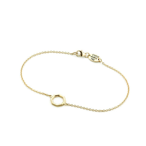 "YELLOW GOLD ""LOYALTY"" BRACELET"