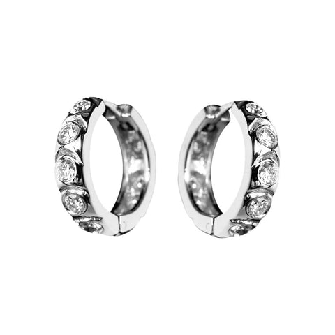 DIAMOND HUGGIES EARRINGS