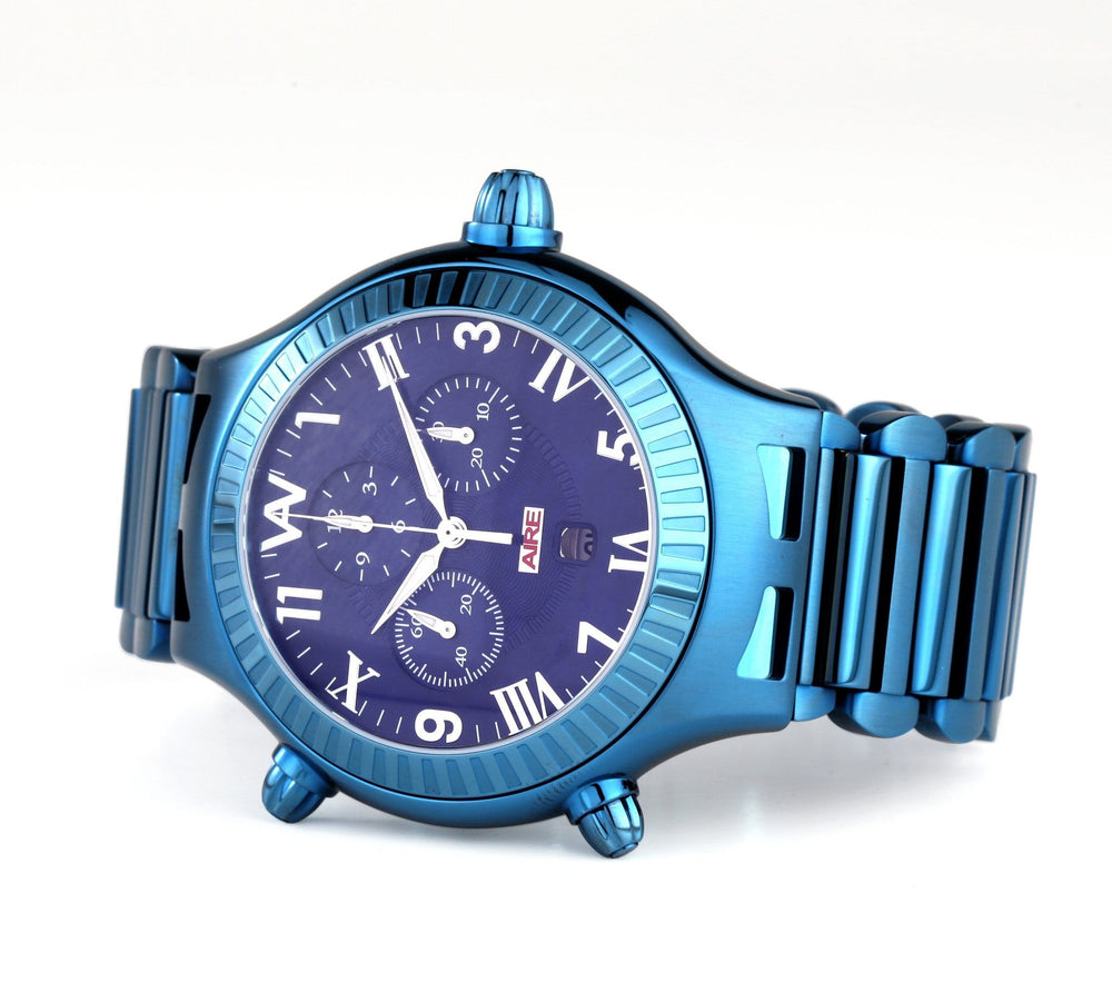 Load image into Gallery viewer, CHRIS AIRE PARLAY BLUE LAGOON WATCH - Chris Aire Fine Jewelry & Timepieces
