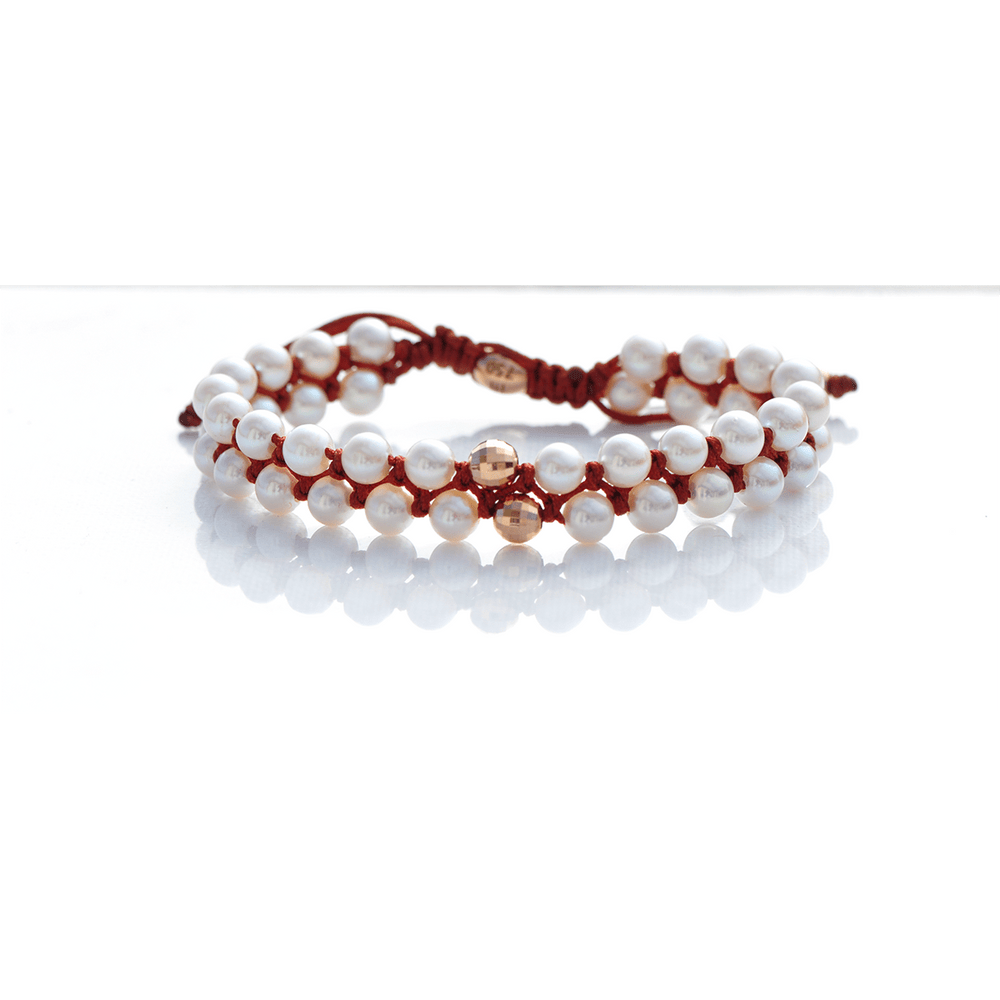 Load image into Gallery viewer, New p Pearl Bracelet
