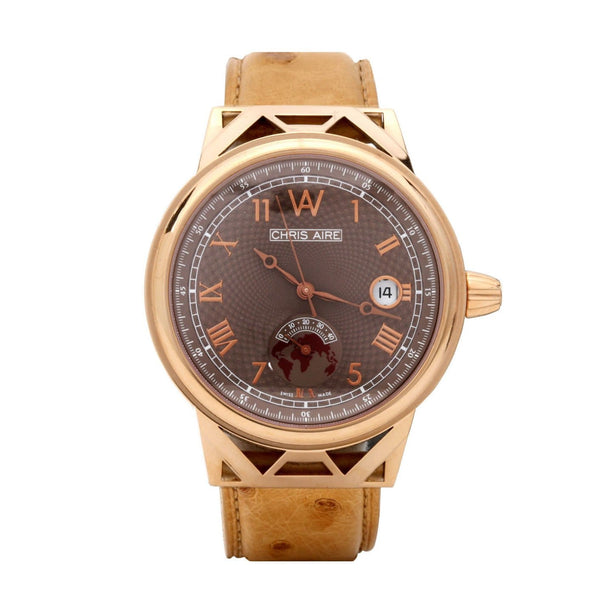 GOLD WATCH - CAPITOL HILL 42 MM - Chris Aire Fine Jewelry & Timepieces