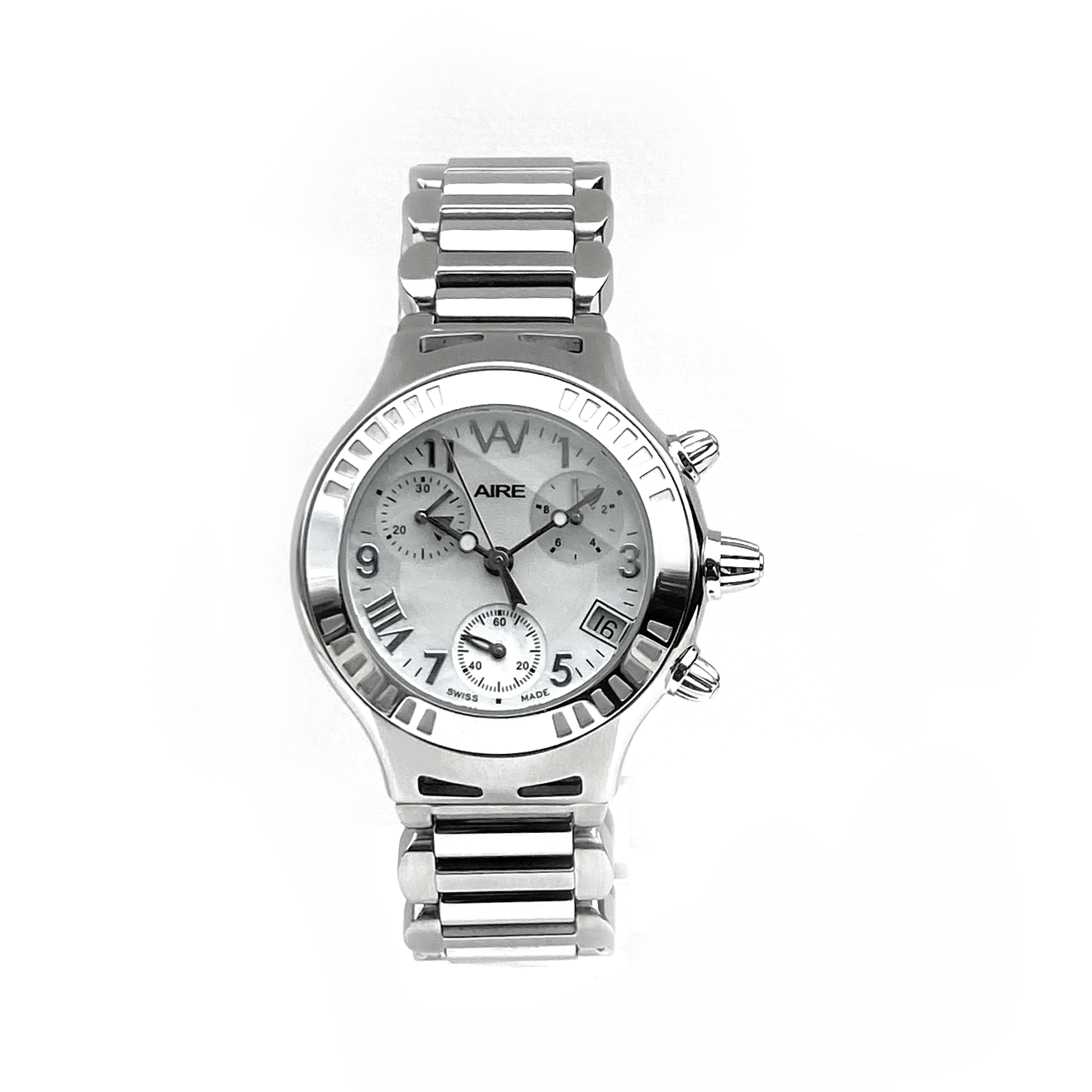 Aire Parlay Chronograph Swiss Made Quartz Women's Watch