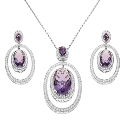 New- Queen Diana Jewelry Set -