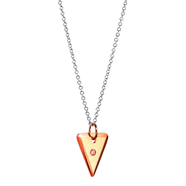 AIRE TRI-TAG NECKLACE - Chris Aire Fine Jewelry & Timepieces