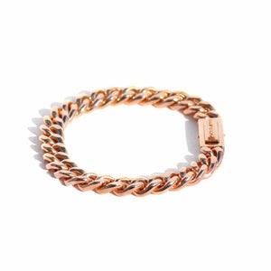 GOLD BRACELET - AIRE CUBAN LINK GOLD BRACELET - Chris Aire Fine Jewelry & Timepieces