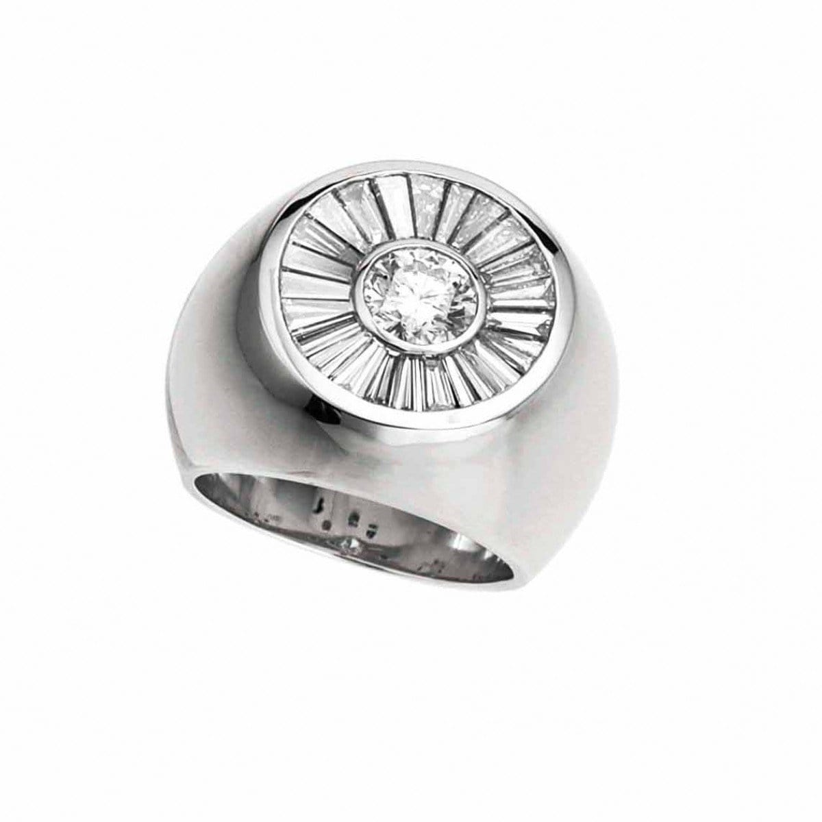 THE EMPEROR DIAMOND RING - Chris Aire Fine Jewelry & Timepieces