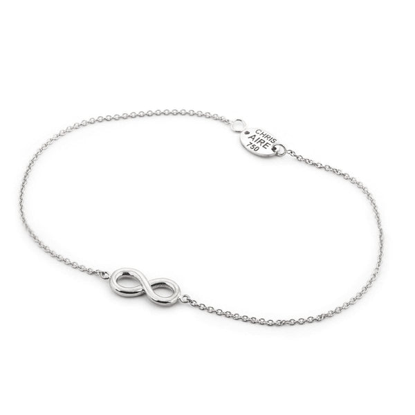 WHITE GOLD INFINITY BRACELET - Chris Aire Fine Jewelry & Timepieces