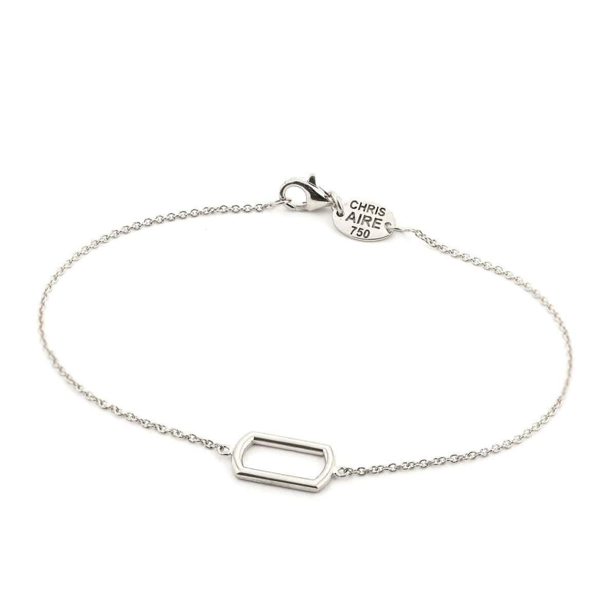 DOG TAG FRAME BRACELET - Chris Aire Fine Jewelry & Timepieces