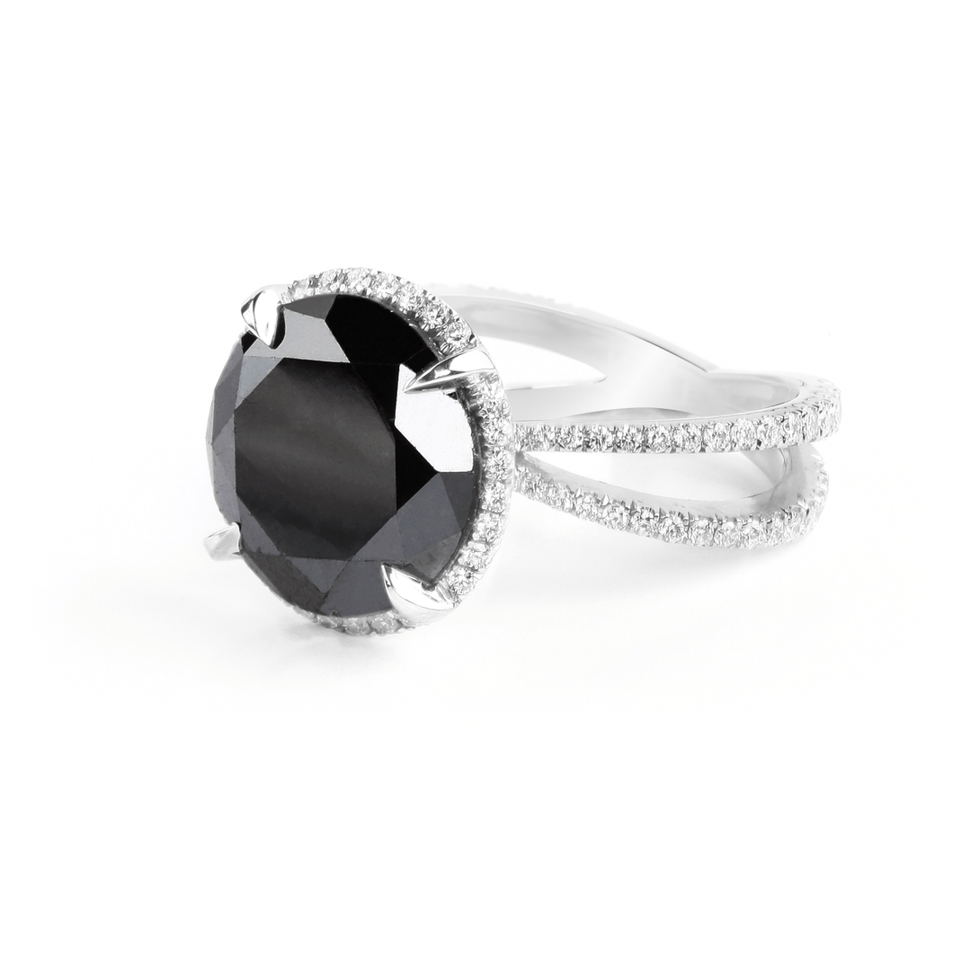 CHRIS ARIE BLACK DIAMOND RING - Chris Aire Fine Jewelry & Timepieces