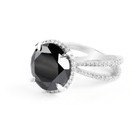 BLACK DIAMOND RING - Chris Aire Fine Jewelry & Timepieces