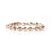 18 Karat Solid Gold African Beaded Bracelet - Red Gold®