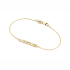 "18 KARAT YELLOW GOLD  ""I LOVE DIAMONDS"" BRACELET - Chris Aire Fine Jewelry & Timepieces"