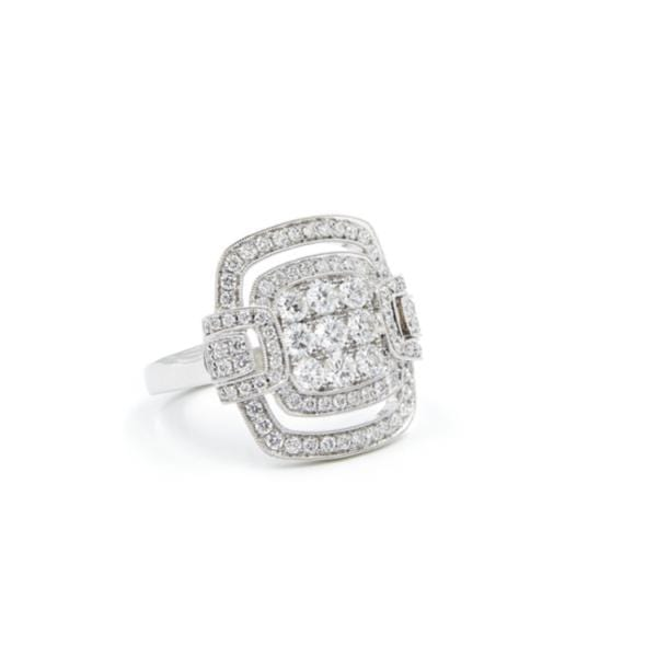 CHRIS AIRE DIAMOND RING - HEIRESS - Chris Aire Fine Jewelry & Timepieces