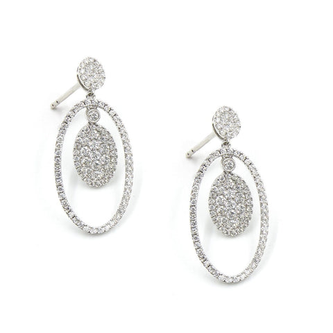 QUEEN DIANA-DIAMOND EARRINGS