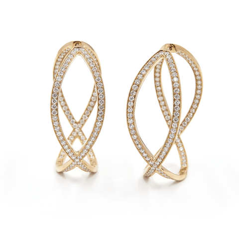 LIFE ETERNAL DIAMOND EARRINGS