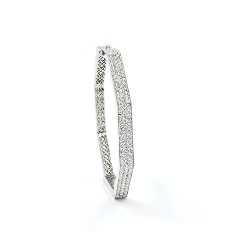 DIAMOND BANGLE FENG SHUI WIDE