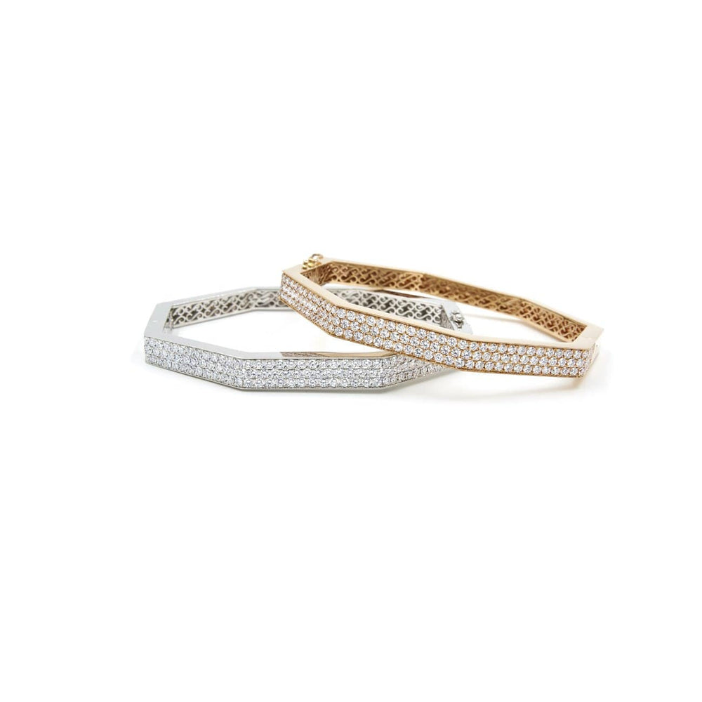 CHRIS AIRE DIAMOND BANGLE - Chris Aire Fine Jewelry & Timepieces
