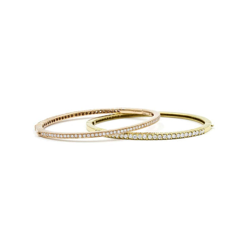 "DIAMOND BANGLE - "" TWO -IN- ONE"""